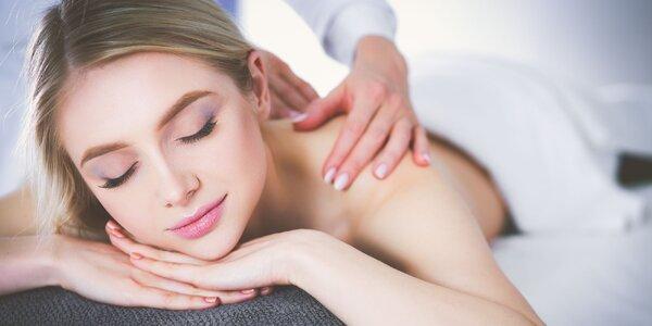 Uvoľňujúca hodinová masáž + parafínový zábal!