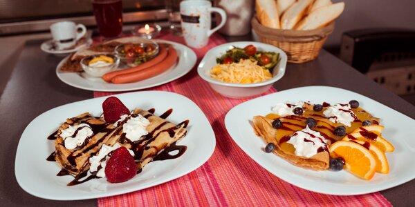 Raňajkové menu: praženica, párky alebo palacinky v Metro kaviarni