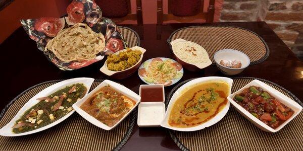 Indické menu pre 2 osoby v Royal Kashmir India Restaurant