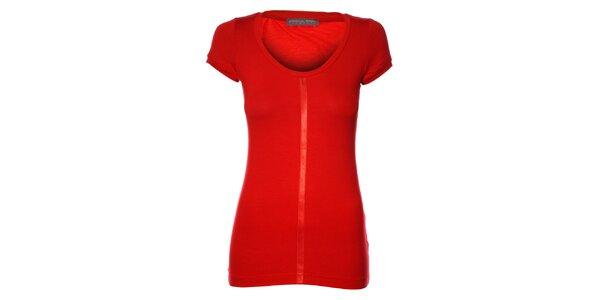 Dámske červené tričko Pietro Filipi