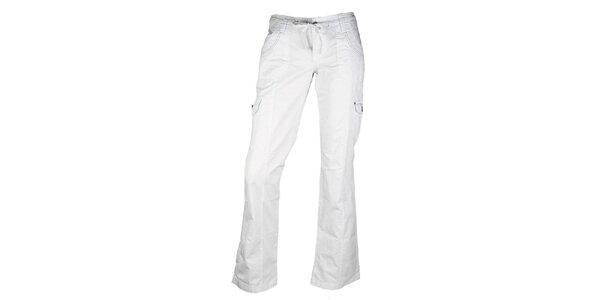 Dámske biele nohavice Authority