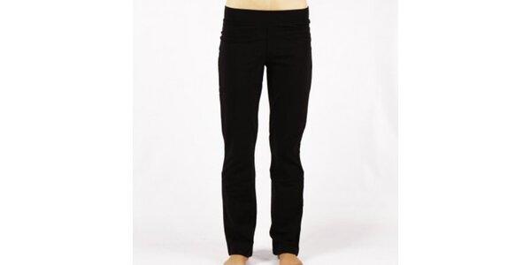 Dámske čierne elastické nohavice Authority