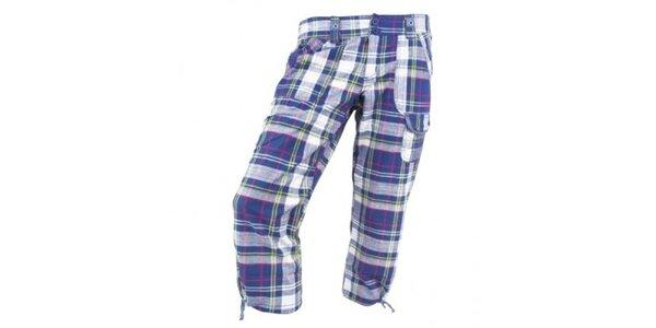 Dámske modré kockované nohavice Authority