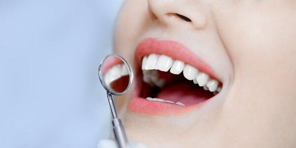 Bielenie zubov LED svetlom bez peroxidu