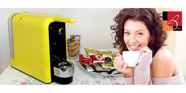 Kávovar Natribom alebo Lavazza s kapsulami