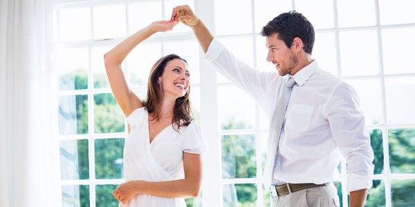 Tanečný kurz, spoločenských a svadobných tancov