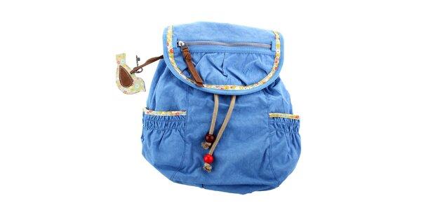 Dámský modrý batôžtek Fossil