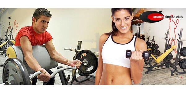 Členstvo na 1 mesiac v CRUNCH fitness club