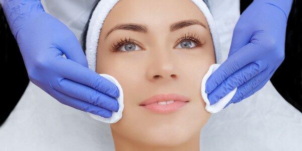 Hĺbkové čistenie pleti alebo regeneračné ošetrenie s masážou