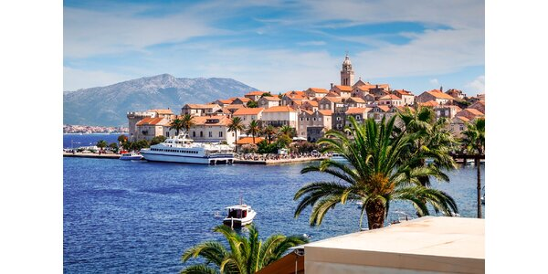 Dovolenka s nádychom luxusu na ostrove Korčula