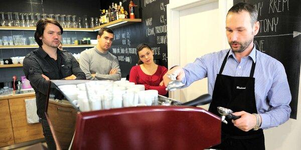 Baristický kurz domácej prípravy talianskeho espressa