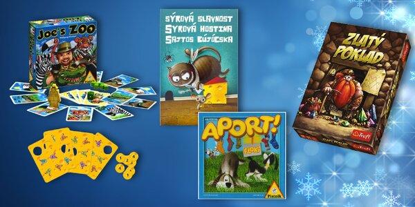 Balíčky hier pre deti aj rodinu