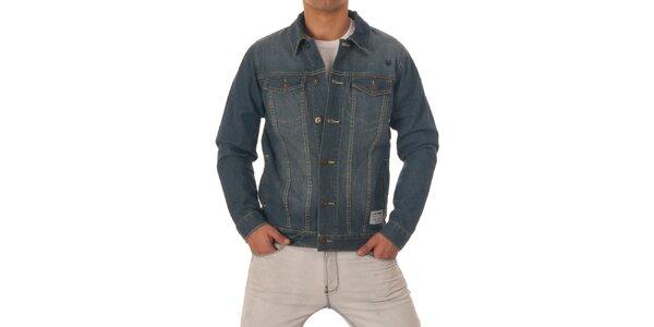 Pánska modrá džínsová bunda Zoo York