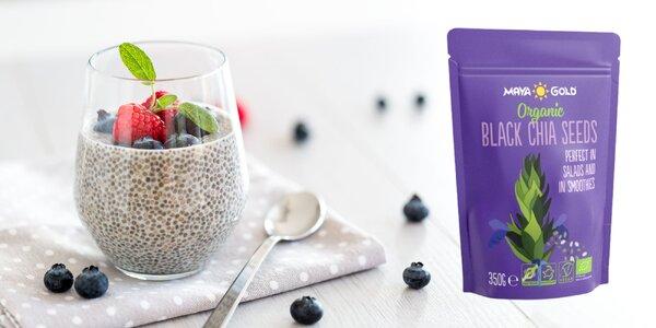 BIO CHIA semienka - zázrak plný vlákniny a antioxidantov