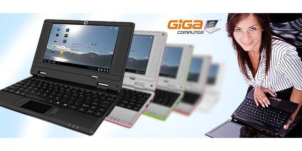 Multidotykový tablet s integrovanou klávesnicou