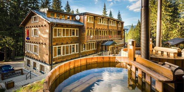 Jar, Leto alebo Jeseň v Hoteli Björnsonka*** pod Chopkom s exteriérovým wellness