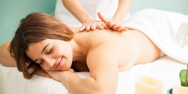 Klasická, športová alebo aróma masáž