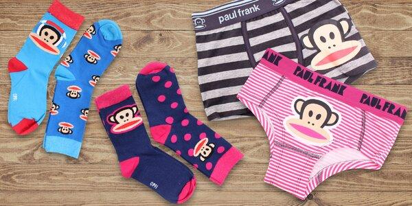Detské ponožky a spodná bielizeň Paul Frank