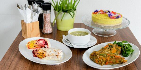 Denné obedové menu - aj vegánske i bezlepkové