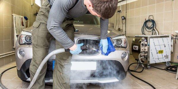 Čistenie interiéru a exteriéru s tepovaním vozidiel