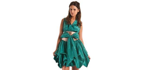 Dámske tyrkysové šaty Jolaby