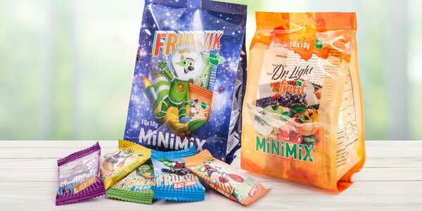 MiNiMiX tyčinky: Frukvik i Dr. Light Fruit