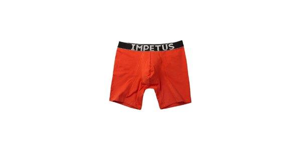 Pánske červené boxerky Impetus