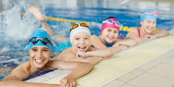 Kurzy plávania pre deti aj dospelých