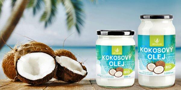 Panenský kokosový olej v bio kvalite