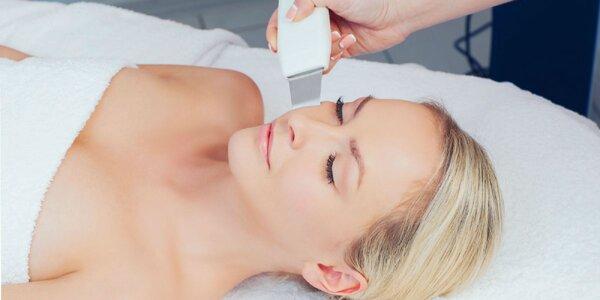 Kompletné hĺbkové ošetrenie pleti skin scrubberom