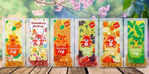 Jarný balíček 6 medvedíkových čajov