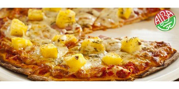 Pizza veľkosti L alebo XL