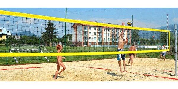 Prenájom ihriska na plážový volejbal