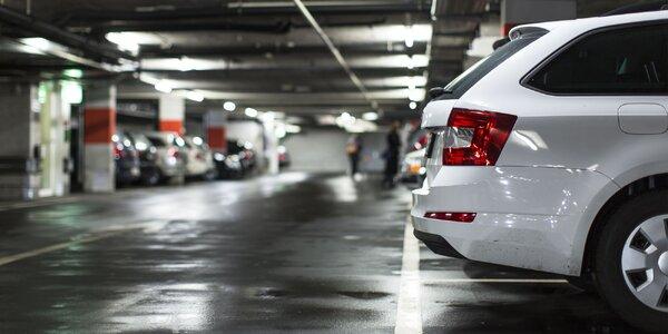 Prenájom parkovacích miest v parkovacom dome v Ružinove