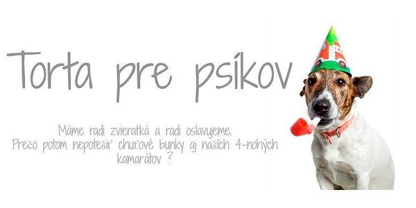 Torta pre psíka už aj na Slovensku !