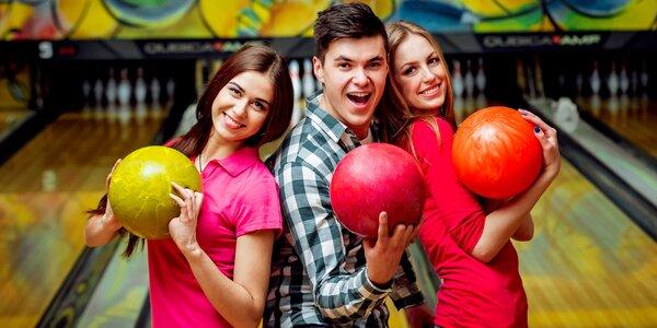 Relax aj zábava - hodina bowlingu v reštaurácii Bowling Erika