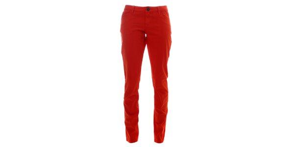 Dámske oranžové nohavice Lee Cooper