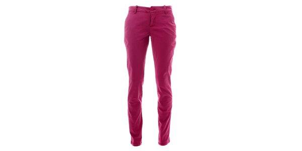 Dámske malinovo ružové nohavice Lee Cooper