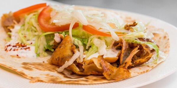 Kebab, falafel a pide v Nando food s možnosťou rozvozu