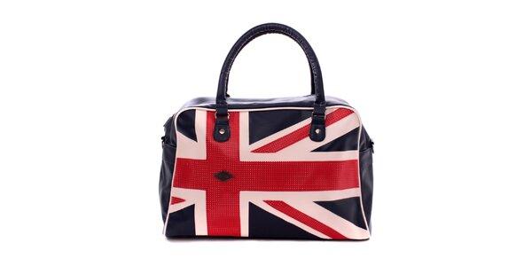 Dámska taška s motívom britskej vlajky Lee Cooper