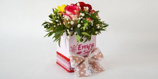 Kvetinové boxy - super darček pre maminu