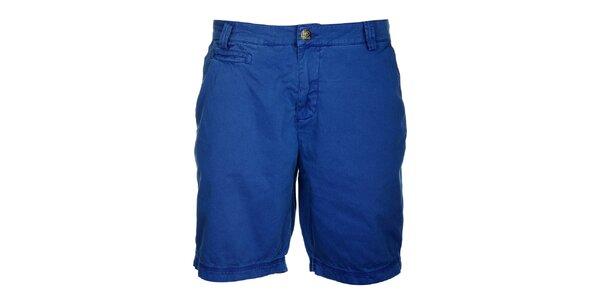 Pánske kráľovsky modré šortky Lee Cooper