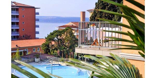 Štýlový hotel v slovinskom Portoroži s polpenziou
