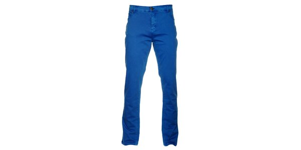 Pánske kráľovsky modré nohavice Lee Cooper