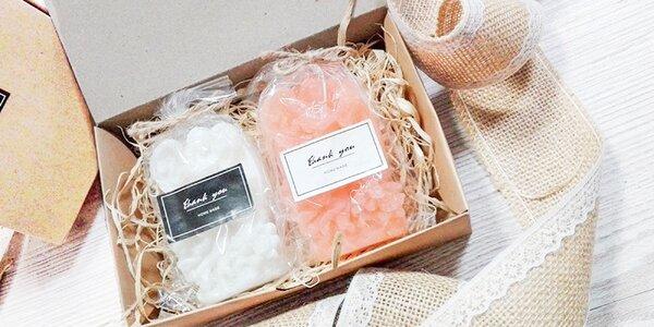Handmade mydlá v darčekovej krabičke