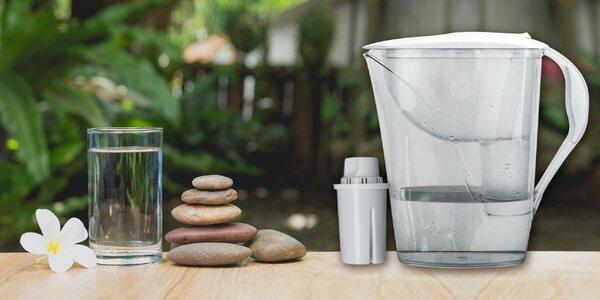 Zdravšia voda u vás doma s filtračnou kanvicou!