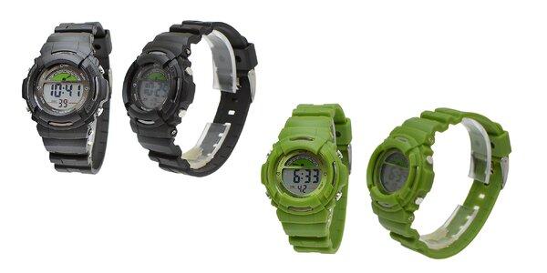 Multifunkčné a odolné detské digitálne hodinky