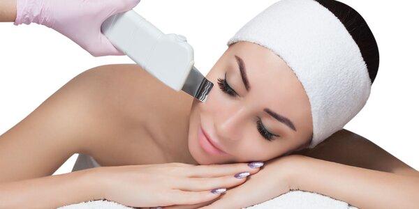 Hĺbkové ultrazvukové čistenie alebo regeneračné ošetrenie