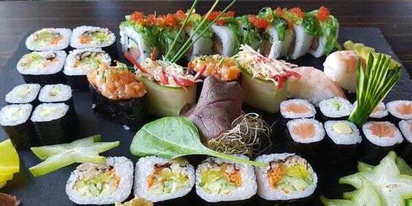 Sushi set (34 kúskov) v TOP Reštaurácii SUSHIHANIL