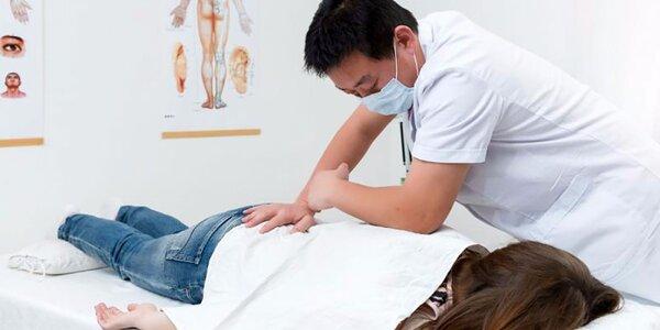 Liečivé čínske masáže proti bolesti